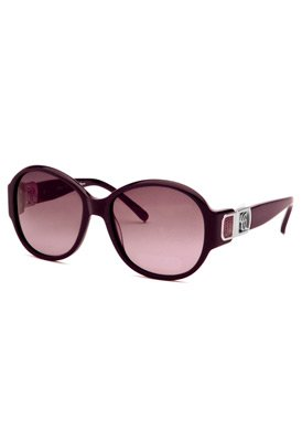 Chloe Women's Purple Fashion Sunglasses