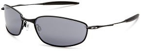 Oakley Mens Whisker Iridium Sunglasses