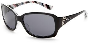 white oakley sunglasses for men wqkk  Oakley Women's Discreet Rectangular Sunglasses