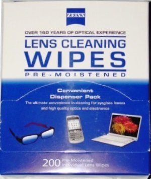 Eyeglass Cloth Wipes